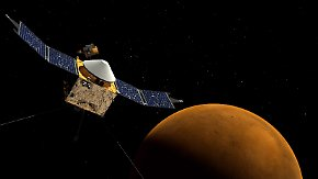 "Sonde umrundet Planeten: ""Maven"" soll Klimarätsel auf dem Mars lösen"