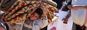 Syrische Flüchtlinge werden in der Türkei versorgt.