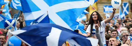 Tausende strömen in die Parteien: Schotten haben auf einmal Lust auf Politik