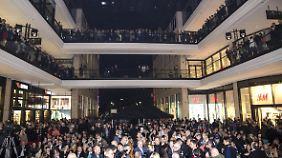 "Edles Riesen-Shopping-Center: ""Mall of Berlin"" öffnet ihre Türen"