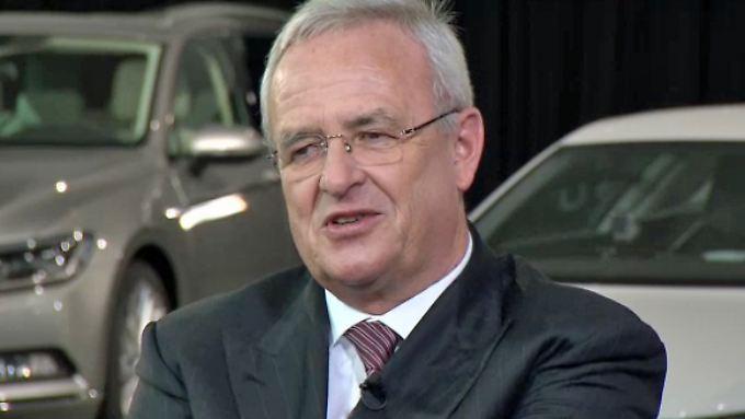 """VW-Chef Winterkorn im Interview: """"Beschäftigen uns mit neuer Marke"""""""