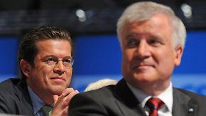"""""""Du bist bei uns gern gesehen"""": Seehofer will Guttenberg zurückholen"""