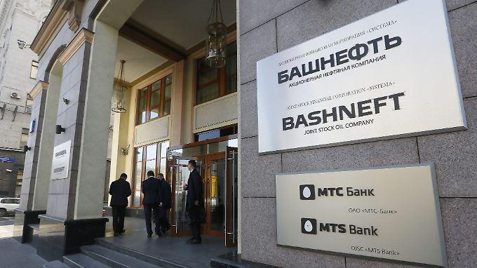 Die Zentrale von Bashneft in Moskau.