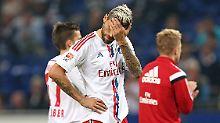 Negativmarke und Last-Minute-Pleite: HSV besiegt Torfluch - und verliert