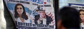 """Die Forderungen der als """"Buitres de Argentinia"""" (Argentiniens """"Aasgeier"""") bezeichneten Hedgefonds aus den USA, haben nach US-Recht Vorrang vor den Ansprüchen anderer Gläubiger."""