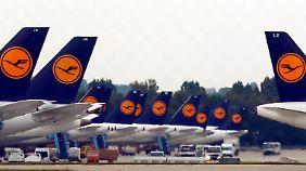 25 Langstreckenflüge annulliert: Lufthansa-Piloten treten in 15-stündigen Streik