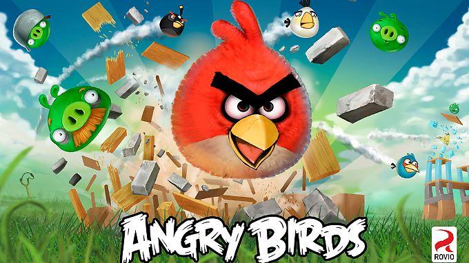 """Die verschiedenen Titel der """"Angry Birds""""-Reihe tragen rund die Hälfte zum Umsatz von Rovio bei."""