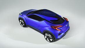 C-HR Concept und drei Räder: Toyota will automobile Meilensteine setzen