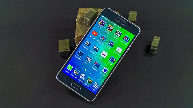 Mit dem Galaxy Alpha verfolgt Samsung eine neue Design-Philosophie.
