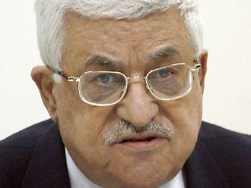Abbas setzt Bedingungen gegen Israel durch.
