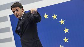 Mario Renzi will's jetzt wissen. Einen Plan B gibt es nicht.
