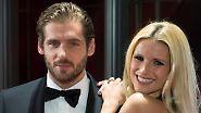 Nach der Scheidung von Schmusesänger Eros Ramazzotti hat die schöne Blondine ihr Glück mit ...