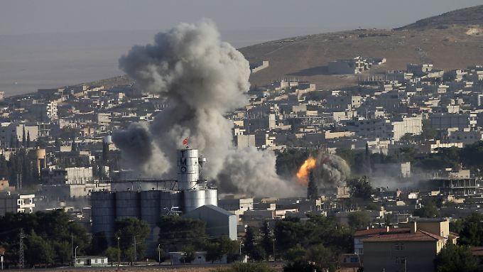 Die IS-Kämpfer kontrollieren mittlerweile 40 Prozent von Kobane.