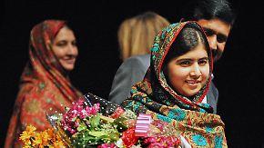 Jüngste Preisträgerin aller Zeiten: 17-jährige Malala Yousafzai erhält den Friedensnobelpreis