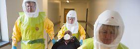 Angst vor Ausbreitung von Ebola: USA und Großbritannien wappnen sich
