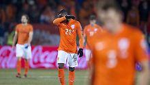 """Blamabler """"Briefträgerfußball"""": Holland wankt auf EM-Katastrophe zu"""