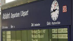 Kritik am Ersatzfahrplan: Lokführerstreik legt Bahnverkehr frühzeitig lahm