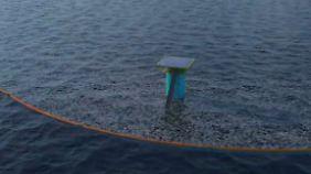 Einfache wie geniale Methode: 19-jähriger Niederländer will Ozeane vom Plastik befreien