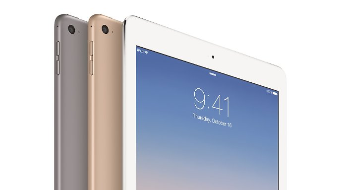 Das iPad Air 2 ist laut Apple das dünnste Tablet der Welt.