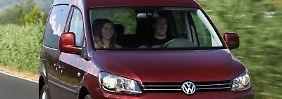 Der VW Caddy, den es anfangs nur als Nutzfahrzeug gab, ist über die Jahre zur Großraumlimousine gereift.