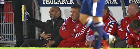 Sechs Lehren des 8. Spieltags: Guardiola foppt Lahm, Klopp blafft