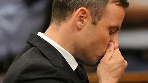 Fünf Jahre Haft: Oscar Pistorius akzeptiert sein Urteil