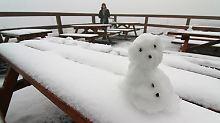 """Heftige Stürme in Deutschland: """"Gonzalo"""" bringt den ersten Schnee"""