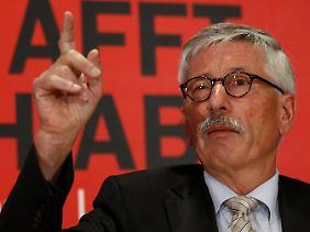 Er glaubt zu wissen, was falsch läuft in Deutschland: Thilo Sarrazin.