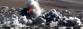 Waffenlieferung und Luftschläge: Der Westen ist für den IS Staatsfeind Nummer eins