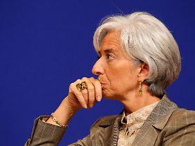 Christine Lagarde ist sich keiner Schuld bewusst.
