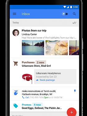 Inbox gibt es als Webdienst und als App.
