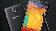 Auch das Samsung Galaxy Note 3 Neo findet bei den Warentestern lobende Erwähnung. Die leicht abgespeckte Variante des Galaxy Note 3  landete in der Bestenliste auf Platz 3. Es hat zwar eine geringere Display-Auflösung und einen schwächeren Prozessor, ...