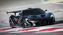 McLaren verbaut Spezial-Lenkrad: Im P1 GTR ist jeder Fahrer Formel-1-Gewinner