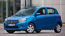 Neuzugang im Modellprogramm von Suzuki:Der Celerio soll die Kleinwagenmodelle Alto und Splash ersetzen. Foto: Suzuki