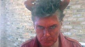 Teufel, Roboterqueen, Mickey Maus: Hollywood beginnt mit der Halloween-Sause