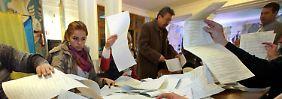 Nach der Wahl in der Ukraine: Poroschenko und Jazenjuk wollen koalieren