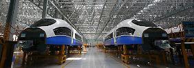 Neuer Rivale für Siemens: Chinas Staatsbahnen blasen zur Attacke