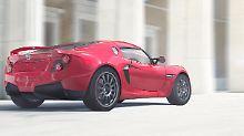 Detroit Electric - Das neue Heck des SP:01 wirkt deutlich straffer als das des 2013 vorgestellten Prototypen.