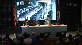 Pressekonferenz nach dem Unglück: Verantwortliche äußern sich zur Explosion der Nasa-Rakete