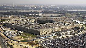 Das Pentagon ist das US-Verteidigungsministerium und befindet sich in Arlington im US-Bundesstaat Virginia.
