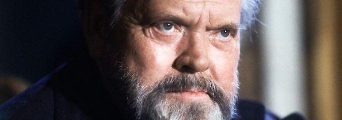 Orson Welles im Jahr 1982.