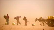 Die Menschen verursachen den Klimawandel und sie leiden darunter.