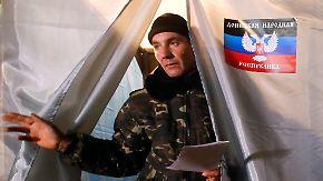 Wahl ohne Alternativen: Kiew droht der endgültige Verlust der Ostukraine