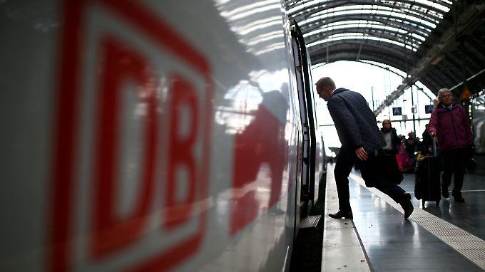 Wer während des Streiks auf Zack ist, kann noch einen Zug erwischen.
