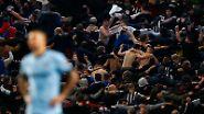 Seltsamer Jubel: Fans von Newcastle United nach dem zweiten Treffer ihres Teams im Spiel gegen Manchester City.