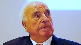 Helmut Kohl, meinungsstark.
