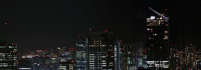 Wirtschaftsmetropole im Fernen Osten: Tokio ist Europa um acht Stunden voraus.