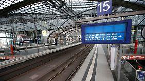"""""""Wie im Kindergarten"""": Bahn will GDL-Streik gerichtlich verhindern"""
