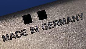 Deutsche Waren sind beliebt wie nie zuvor.