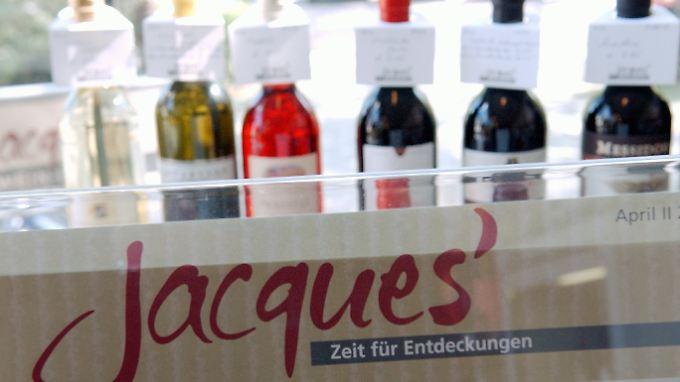 """Zur Hawesko Holding AG gehören über 280 Filialen von """"Jaques' Weindepot""""."""